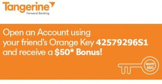 tangerine refer a friend code