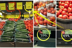 Price of Tomatoes and Cucumbers