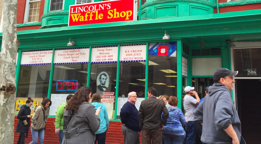 Lincoln Waffle Shop Line