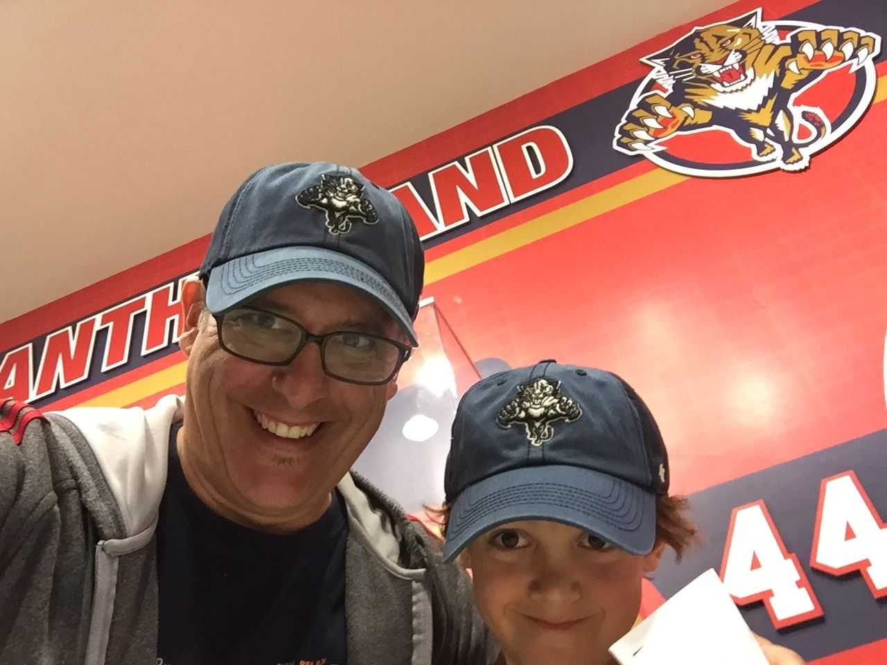 Father Son Florida Panther Hats