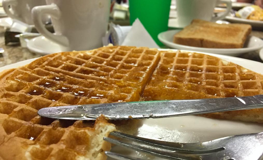Lincoln Waffle House waffle