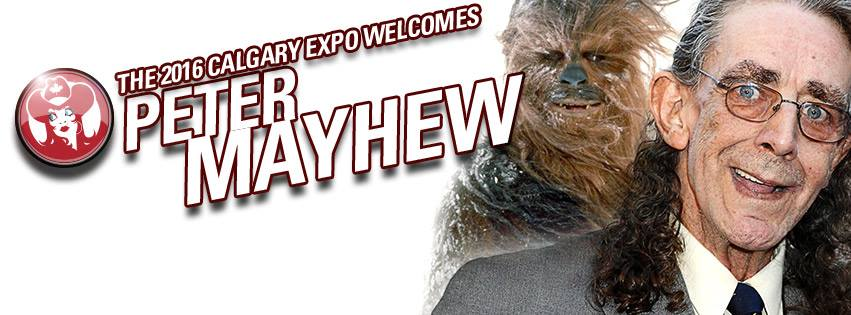 Peter Mayhew at Calgary Comic and Entertainment Expo