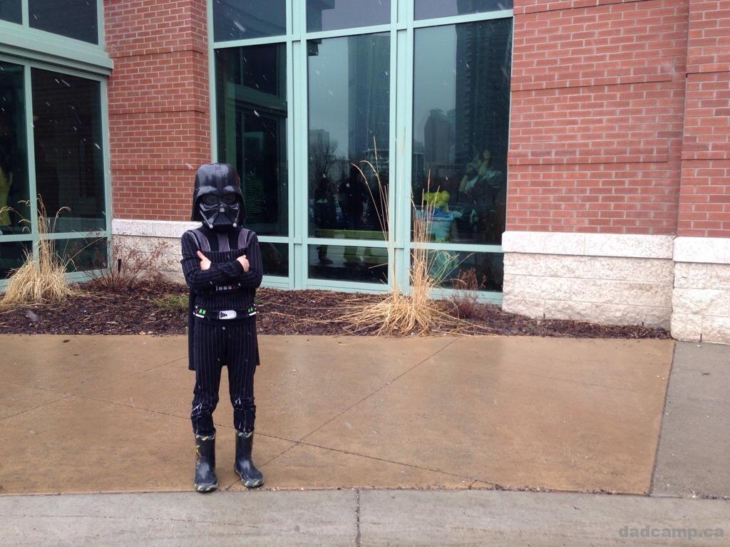 Darth Vader at Calgary Expo