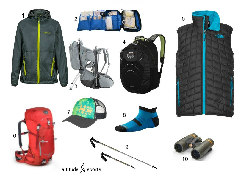 Family Hiking Gear