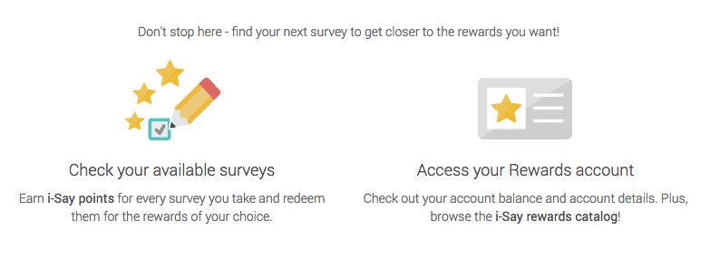 I-Say Rewards