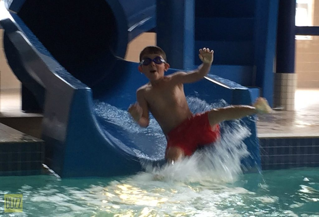 Waterslide in Hotel