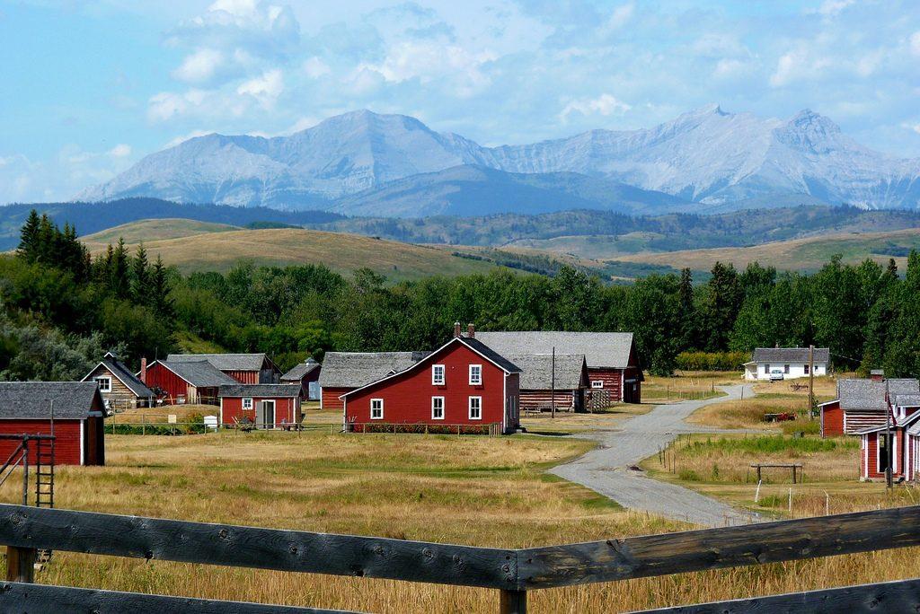 Bar U Ranch at Longview, Alberta
