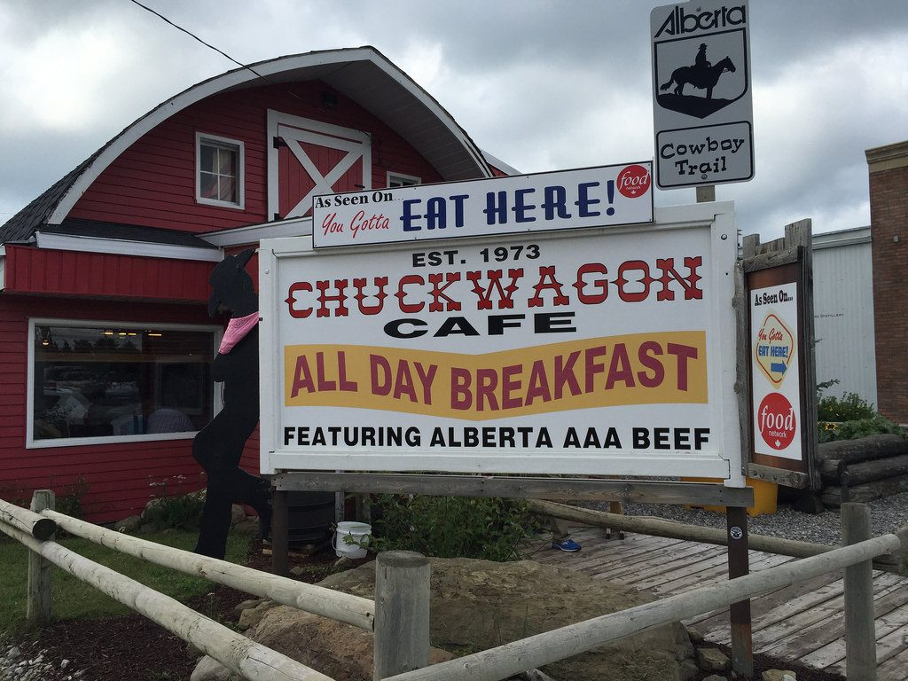 Chuckwagon Cafe, Turner Valley