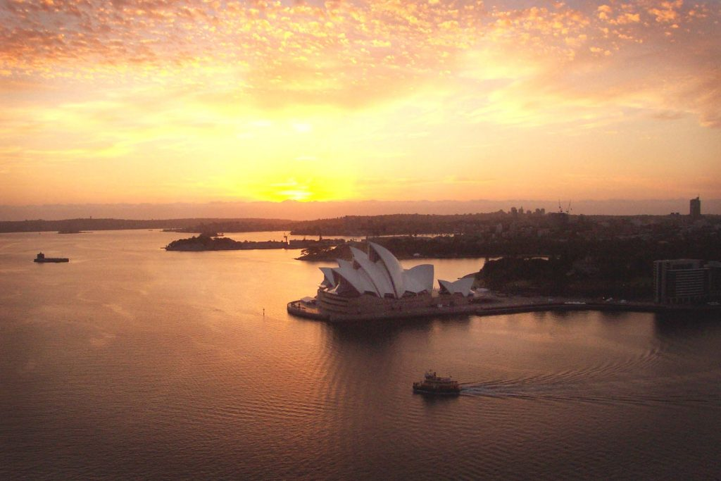 Sydney Harbour Bridge Climb at Dawn