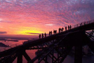 Twilight BridgeClimb up Sydney Harbour Bridge