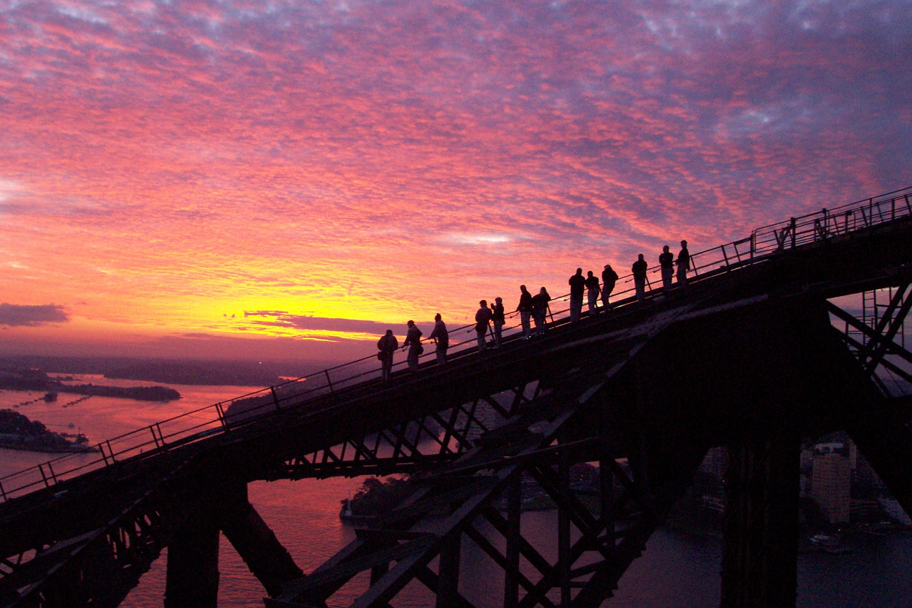 Twilight BridgeClimb up Sydney Harbour Bridge