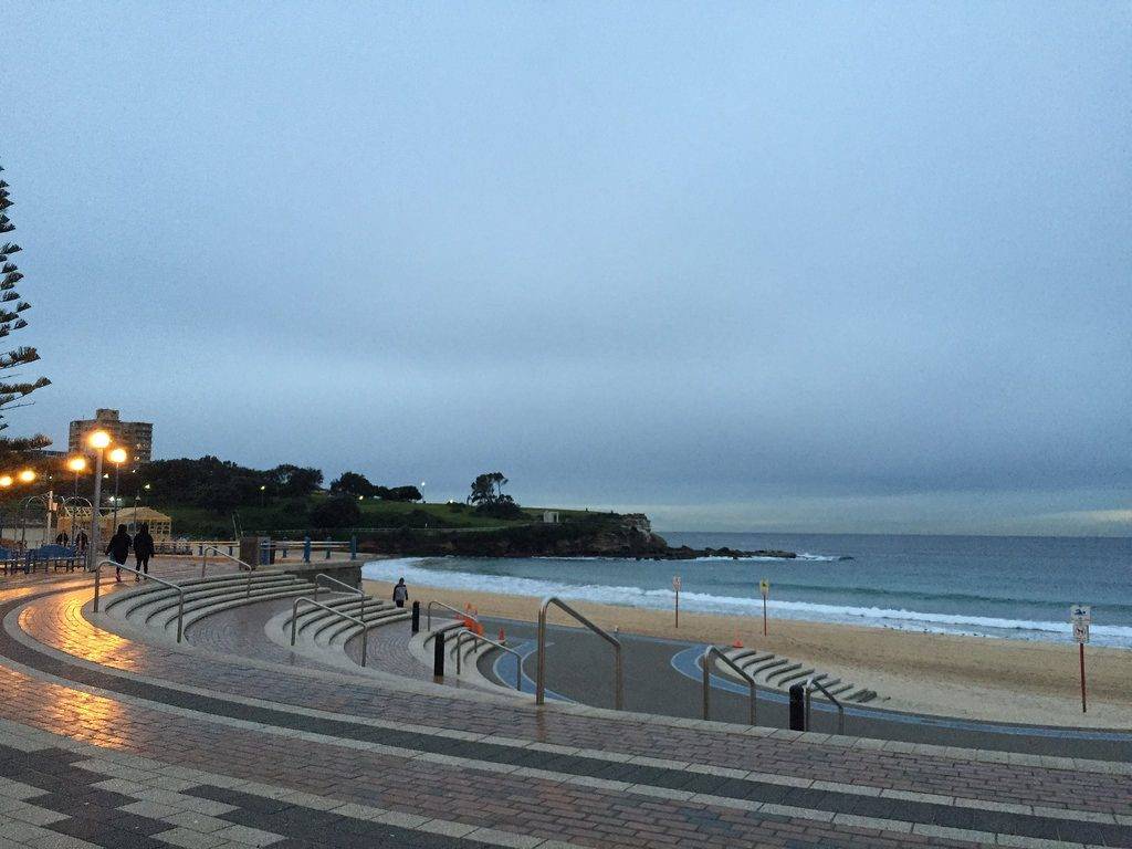 Coogee Beach at dawn