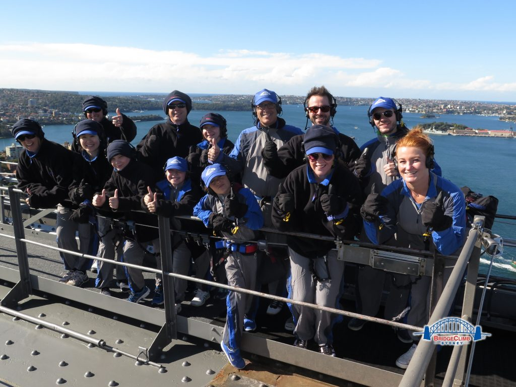 Sydney Harbour BridgeClimb group photo