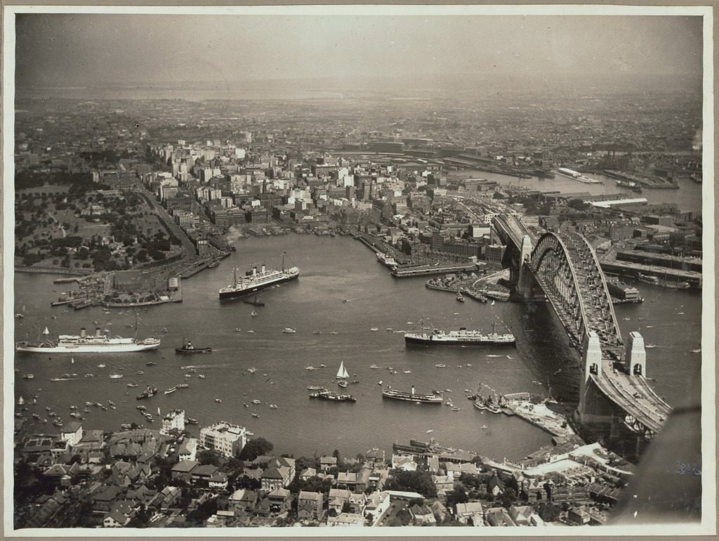 Sydney Harbour Bridge Opening 1932