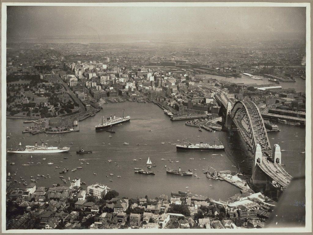Sydney Harbour Bridge Opening 1932
