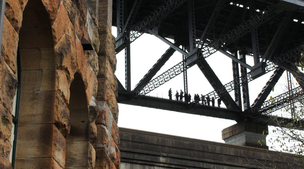 Sydney Harbour Bridge catwalk
