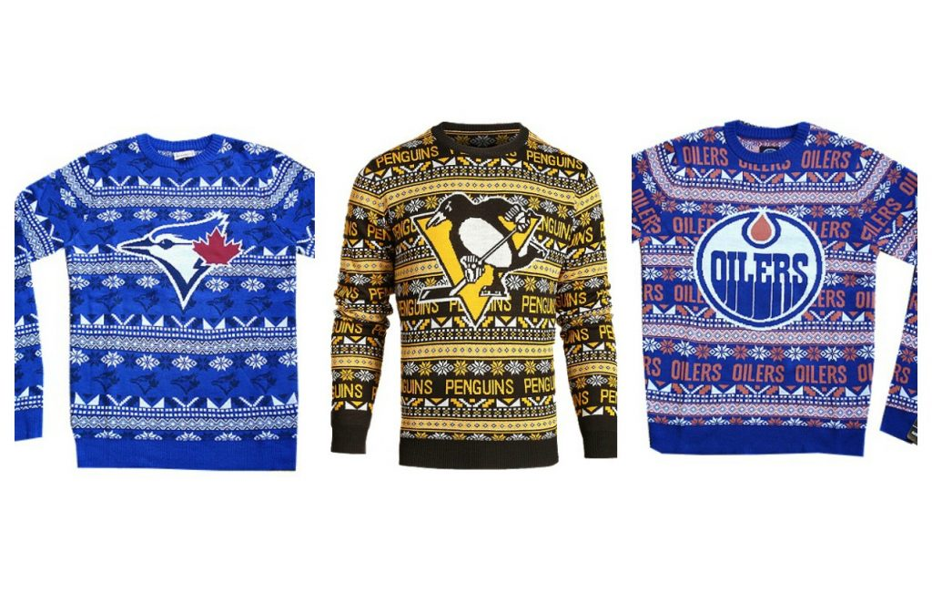 Ugly Big Logo Christmas Sweaters