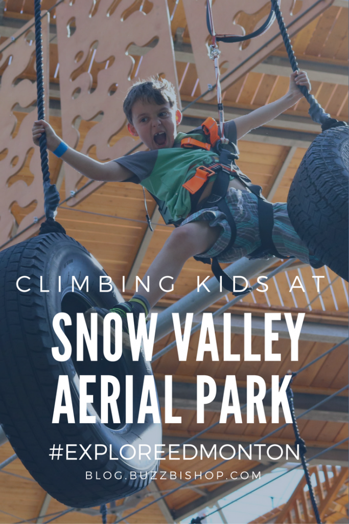 Snow Valley Aerial Park in Edmonton for Families