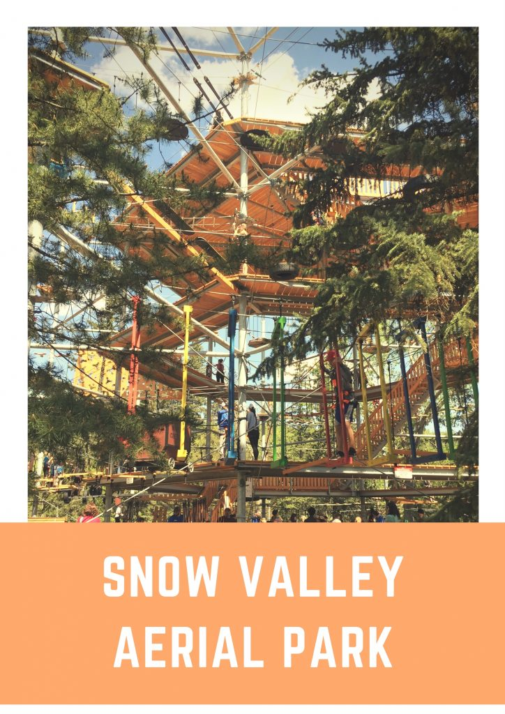 Taking Your Kids To The New Snow Valley Aerial Park At Rainbow Valley Campground
