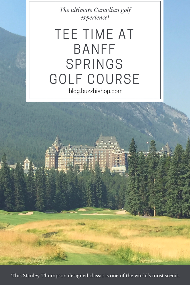 Tee Time at the Banff Springs Golf Course