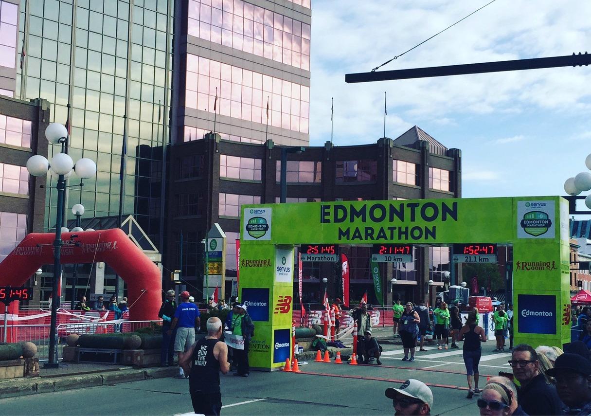 Team Diabetes Race Report Edmonton Marathon The Blog