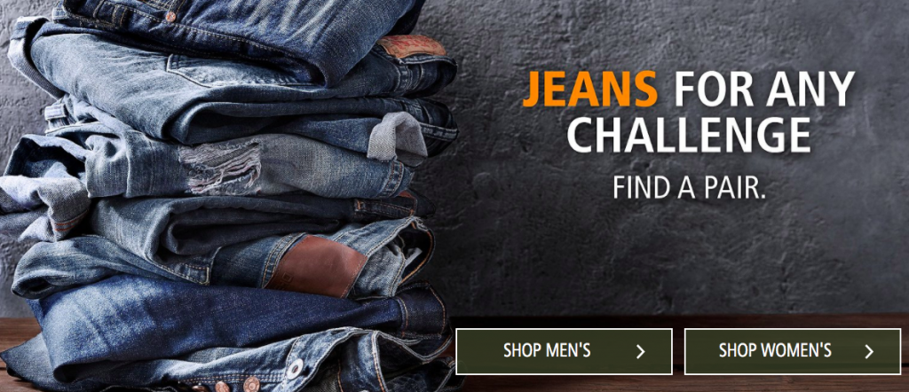 Jeans at Mark's