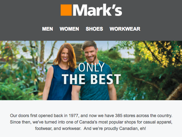 Marks email