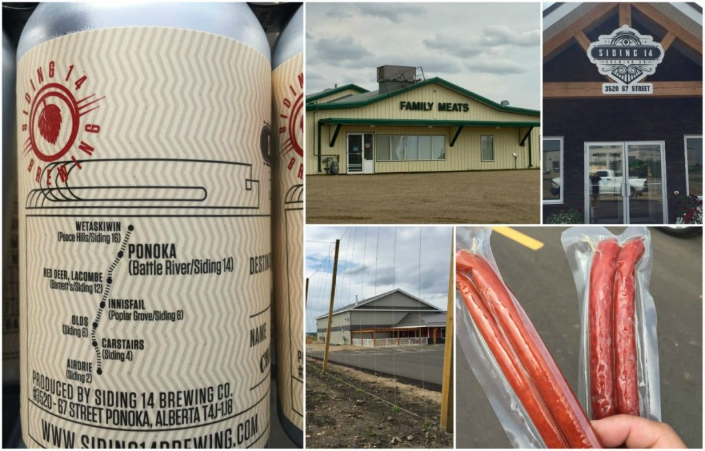 Siding 14 and Family Meats in Ponoka