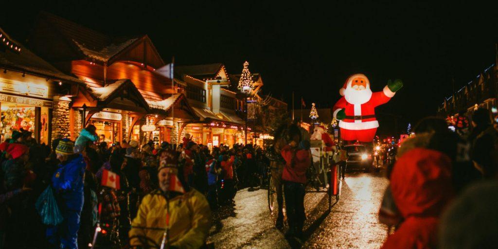 2017 Santa Claus Parades Near Calgary The Blog According